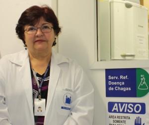 Yara Gomes é chefe do Serviço de Referência em doença de Chagas da Fiocruz Pernambuco (Imagem: Ascom/Fiocruz PE)