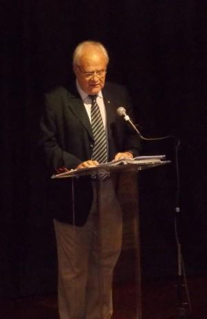 Paulo Buss durante apresentação do Relatório/ Foto: Geiza Ferreira