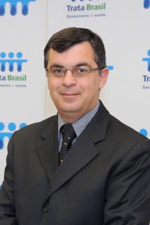 Édson Carlos, presidente executivo do Instituto Trata Brasil (Foto: Divulgação)