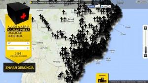 De março a julho o site recebeu mais de 3 mil denúncias (Imagem: reprodução em 6/8/14)