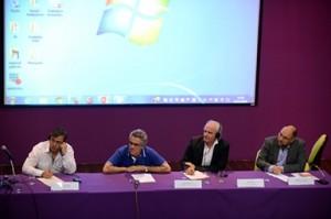 Mesa de debates sobre experiências territorializadas/ Foto: Virginia Damas/CCI/ENSP/Fiocruz