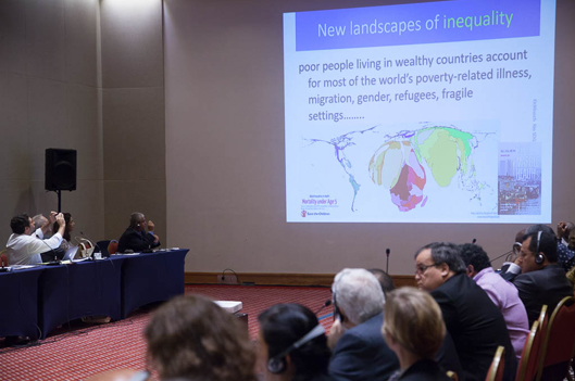Fiocruz promove o Segundo Encontro de Think Tanks e Instituições Acadêmicas de Políticas de Saúde Global (foto: Pedro Linger)