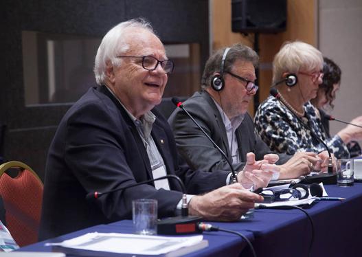 Paulo Buss destacou que pesquisas interdisciplinares são fundamentais para a implementação dos ODSs (foto: Pedro Linger)