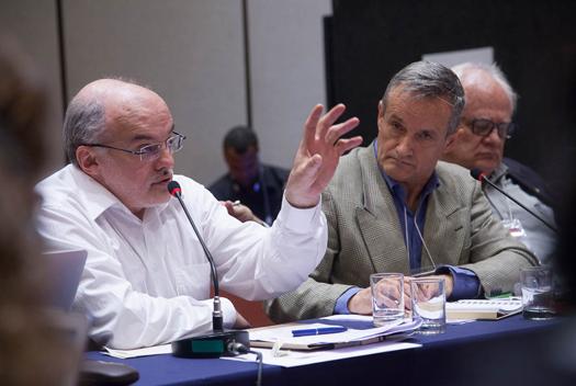 Para Rômulo Paes, a implementação dos ODS exige coordenação interssetorial e participação da sociedade civil (foto: Pedro Linger)