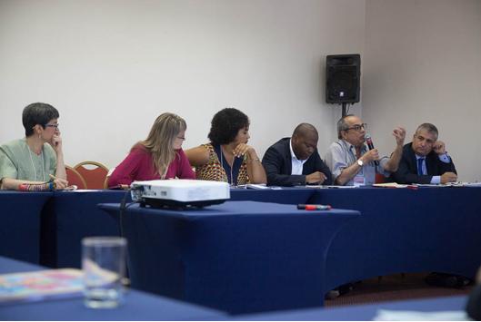 Segundo grupo de trabalho concentrou-se na importância da pesquisa interdisciplinar para o desenvolvimento de métodos que acelerem a implementação dos ODS (foto: Pedro Linger)